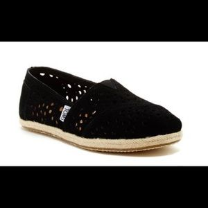 Toms Moroccan Cut Suede Classic Slip On Women's 8